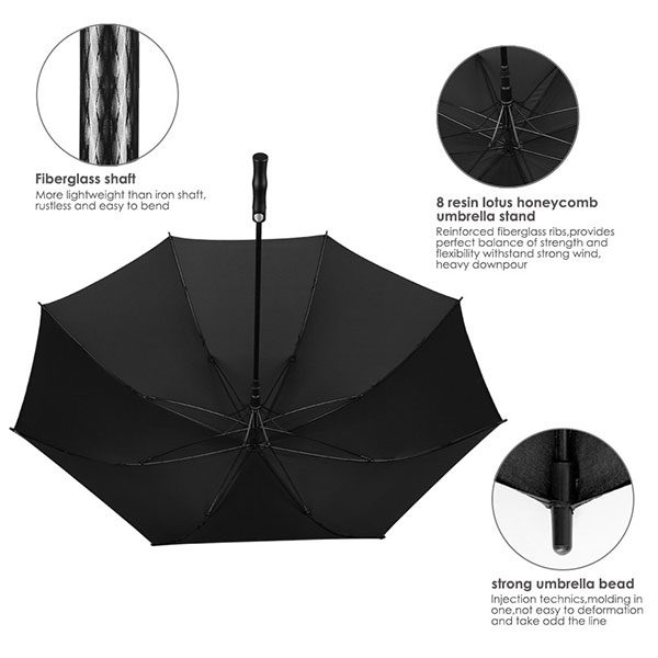 Branded Corporate Golf Umbrellas