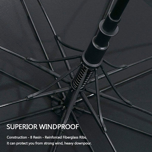 Reinforce Frame Windproof Golf Umbrella