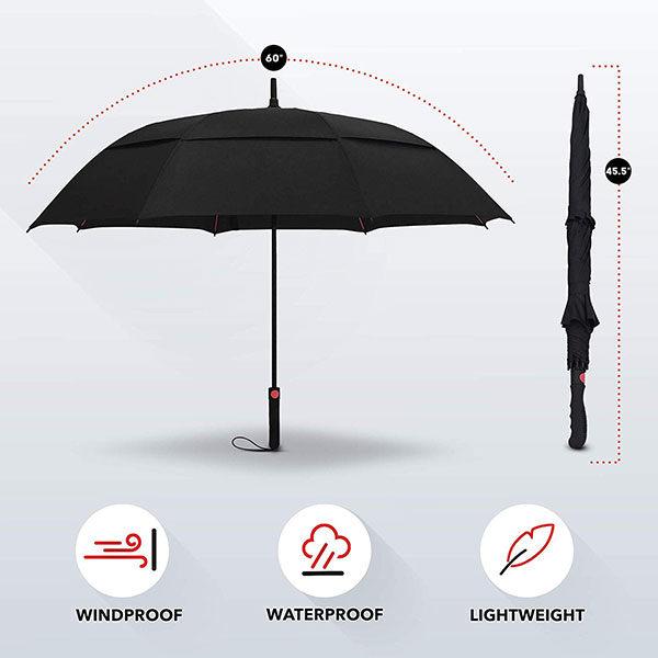 Promotional Golf Umbrella Size