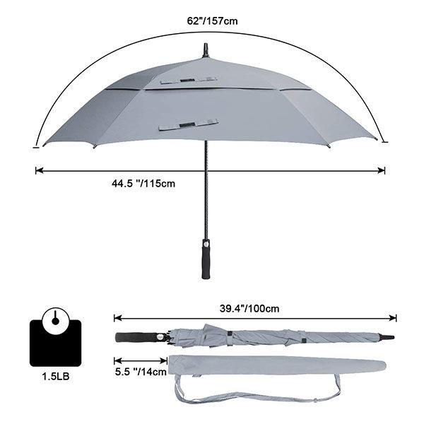Golf Umbrella Branded Size
