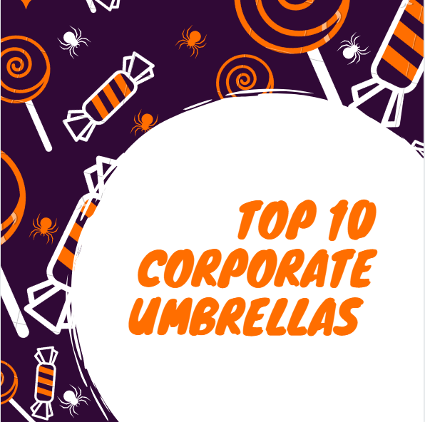 Top 10 Corporate Umbrellas