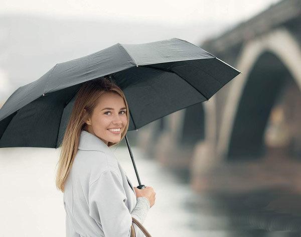 Windproof Compact Umbrella Automatic