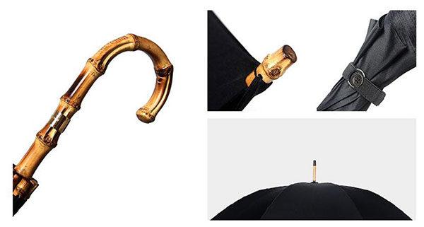 Premium Gentleman Style Bamboo Umbrella