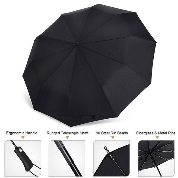 Best Windproof Travel Umbrella 2019