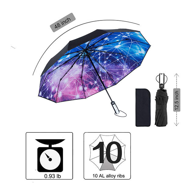 Pantone-Matched Print Design Umbrella