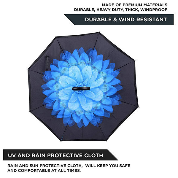 Full Color Print Inverted Umbrella