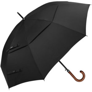 Wooden Handle Umbrella Mens