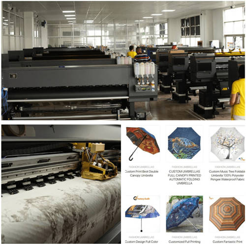 Umbrella factory equipment