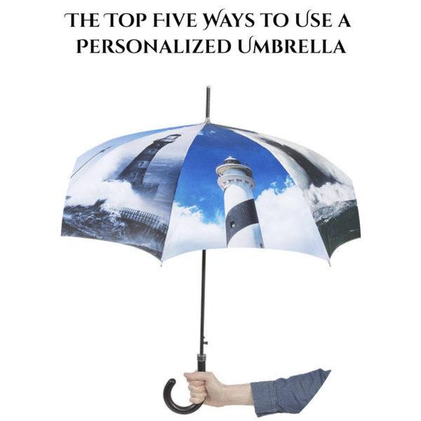 The Top Five Ways to Use a Personalized Umbrella!