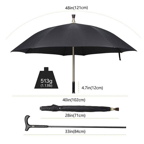 Customise Best Walking Stick Umbrella for Outdoor Gift
