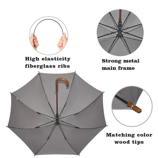Unbreakable Fiberglass Umbrella
