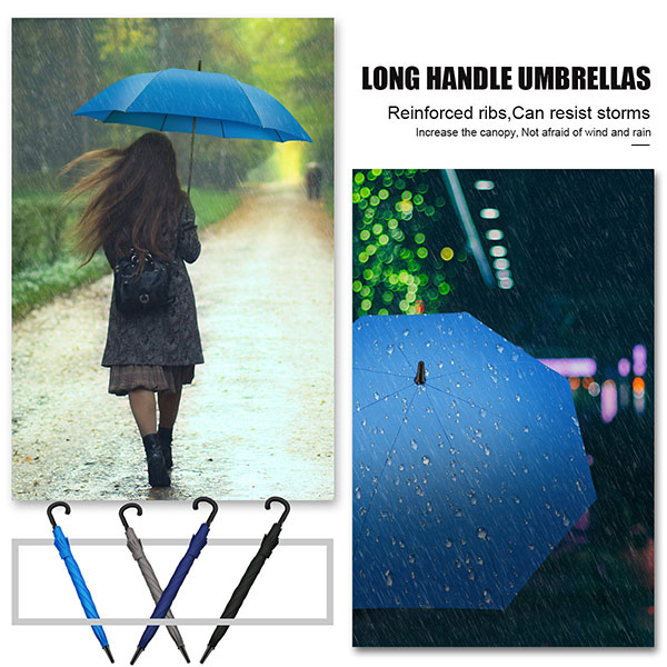 Classic Windproof Walking Umbrella