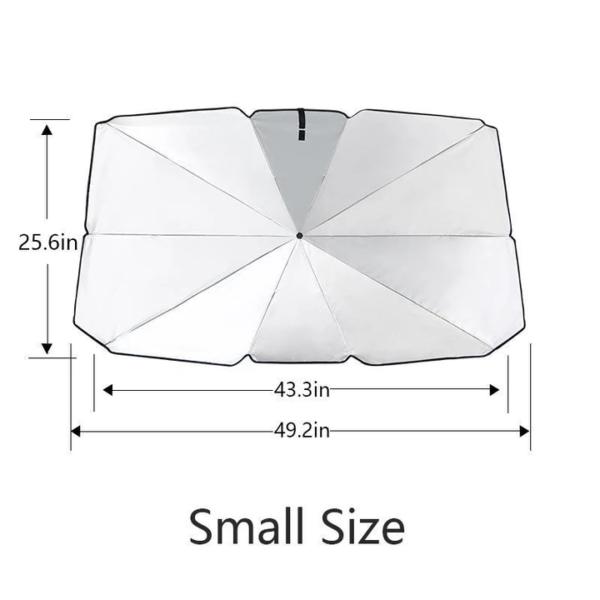 Car Windshield Sun Umbrella Small