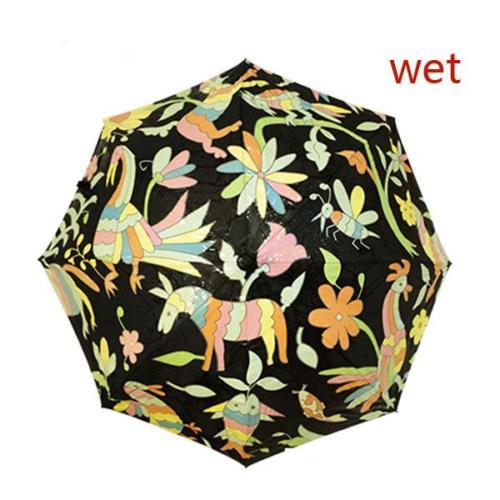 Color Change Umbrella When Wet