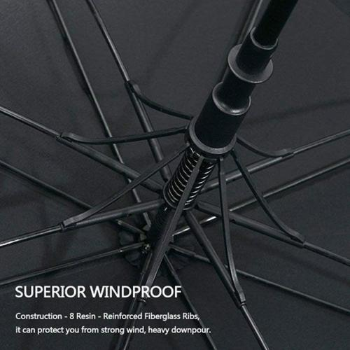 Reinforced Frame Windproof Golf Umbrella