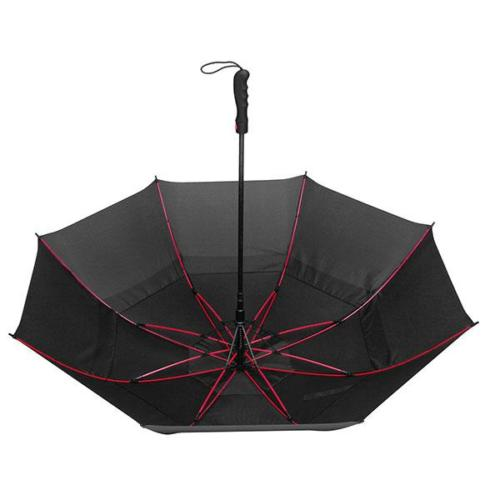 Promotional Golf Umbrella with Reinforced Fiberglass Frame Adorned in Different Color Paint