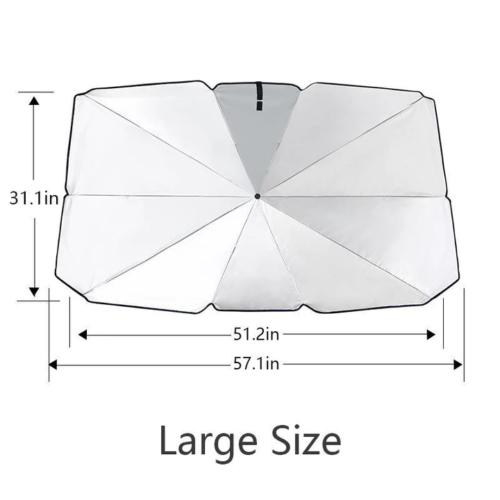 Car Windshield Sun Umbrella Large