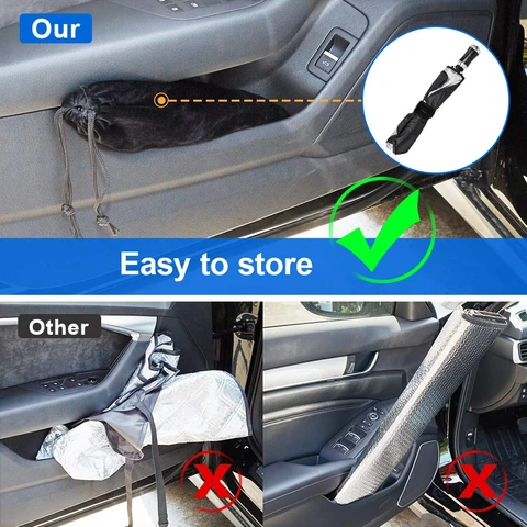 Car Windshield Sun Umbrella Easy Storage