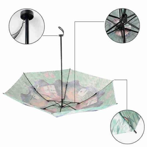 Printing light weightTelescopic umbrella
