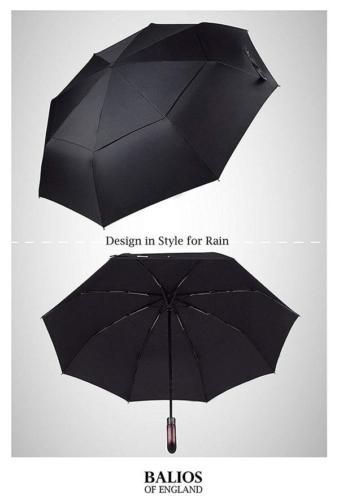Quick Dry Compact Wooden Handle Umbrella