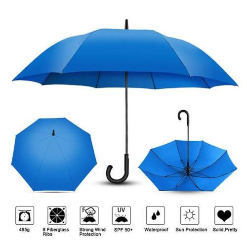 Customise Windproof Walking Umbrella